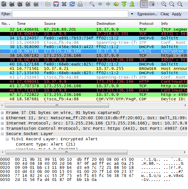 How to capture HTTPS SSL TLS packets with wireshark