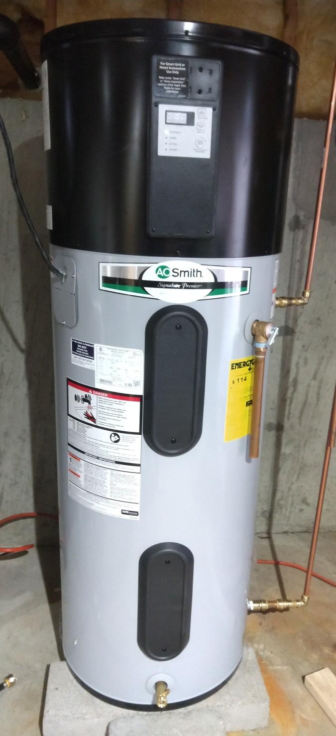 Ao Smith Hybrid Hot Water Heater